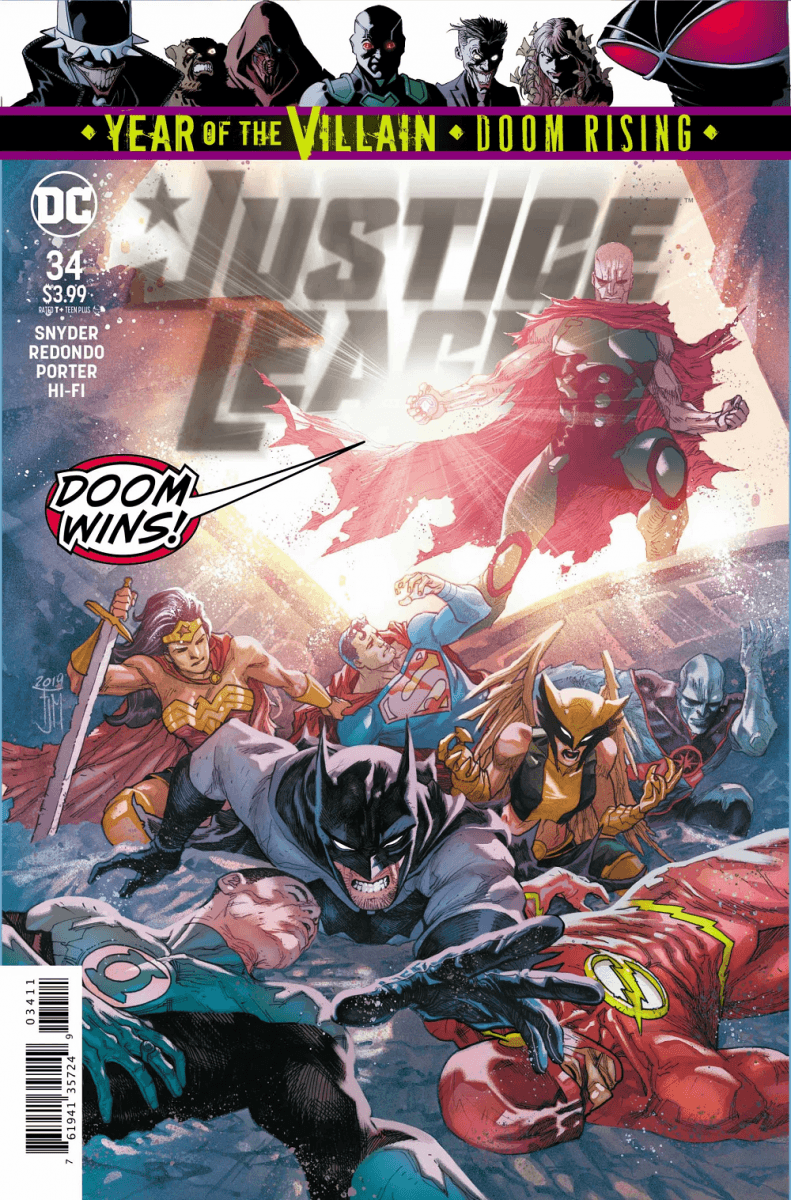 Comic Book Preview - Justice League #34