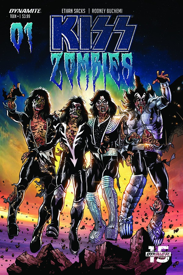 Get a first look at Dynamite's Kiss Zombies #1