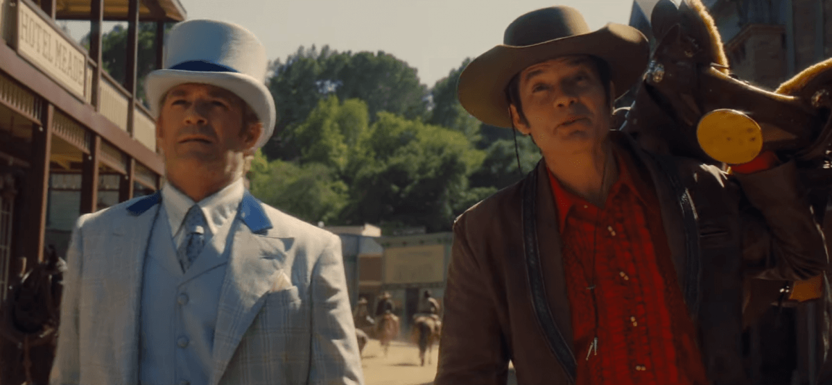 Luke Perry and Timothy Olyphant feature in deleted scene from Once Upon a Time in Hollywood