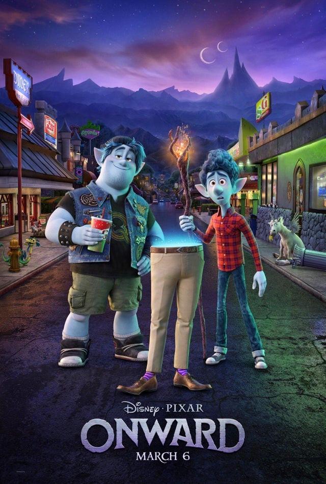 Disney-Pixar's Onward gets a new poster