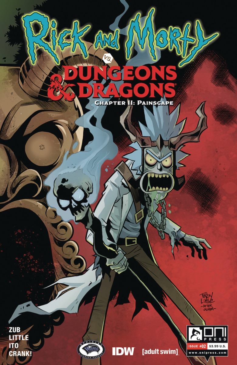 Comic Book Preview - Rick & Morty vs. Dungeons & Dragons II: Painscape #2