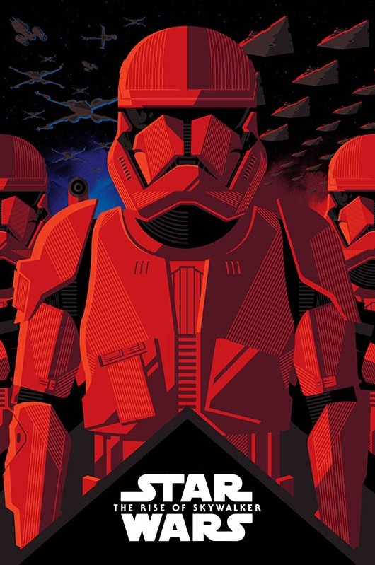 Star Wars The Rise Of Skywalker Gets Two Illustrated Imax Posters