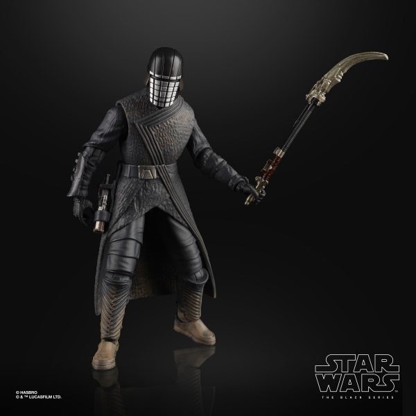 Star Wars The Rise Of Skywalker Knight Of Ren And Zorii Bliss Black Series Figures Revealed