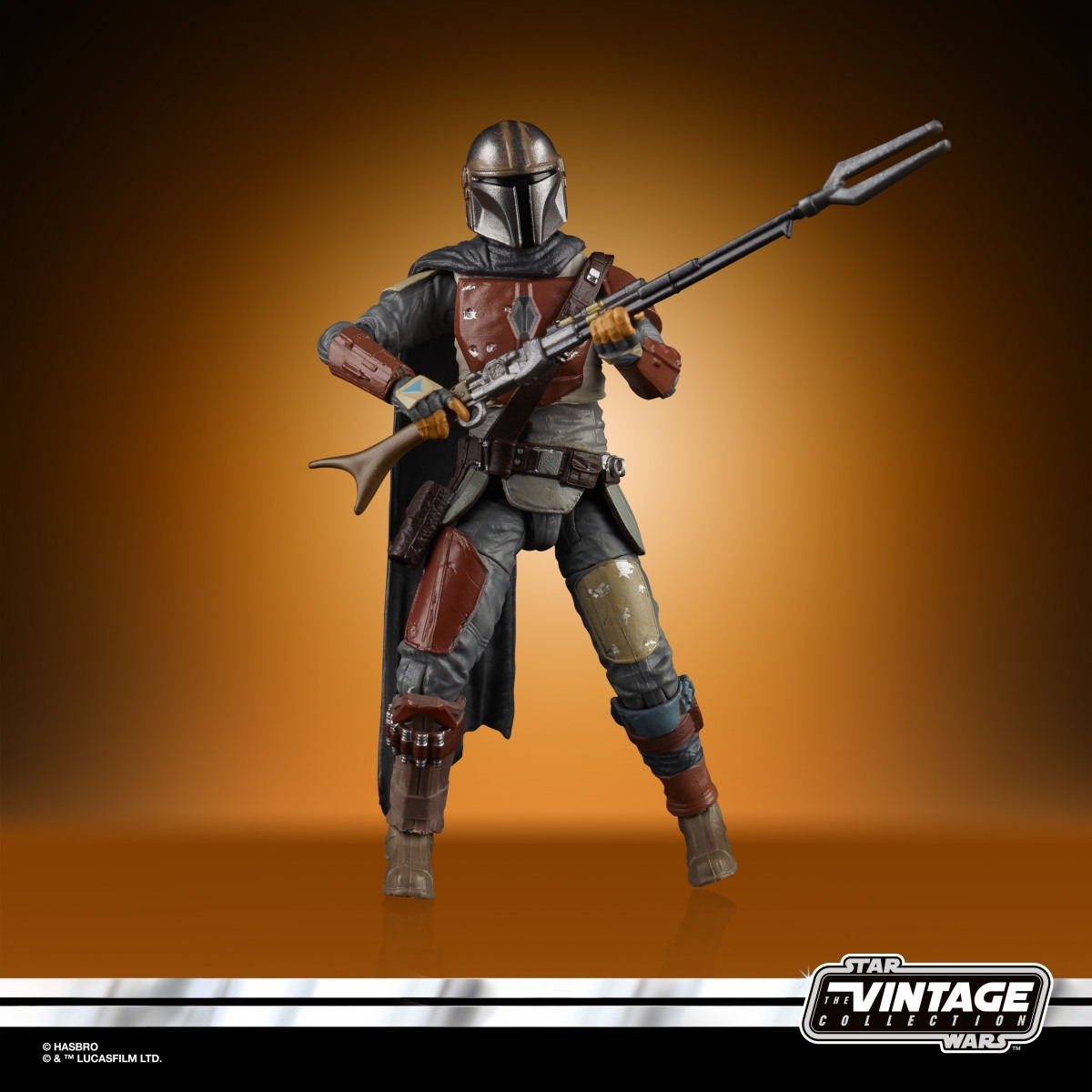 The Mandalorian joins Hasbro's Star Wars: The Vintage Collection