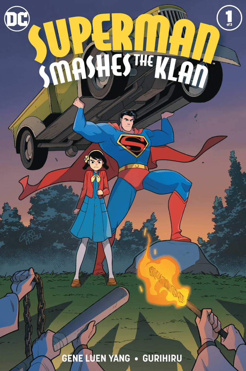 Comic Book Preview - Superman Smashes the Klan #1