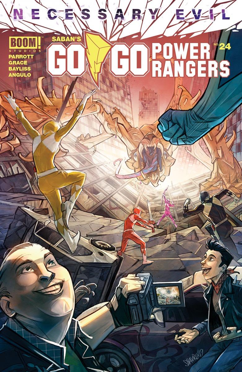 Comic Book Preview - Go Go Power Rangers #24