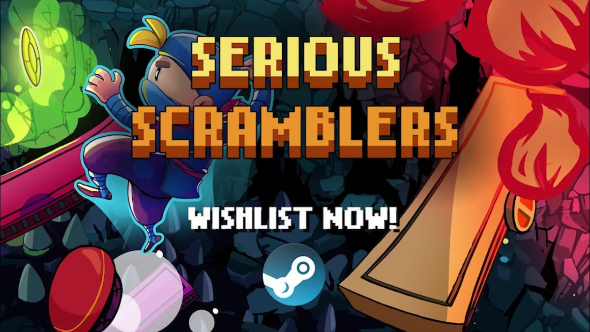 Platformer Serious Scramblers coming to Steam this November
