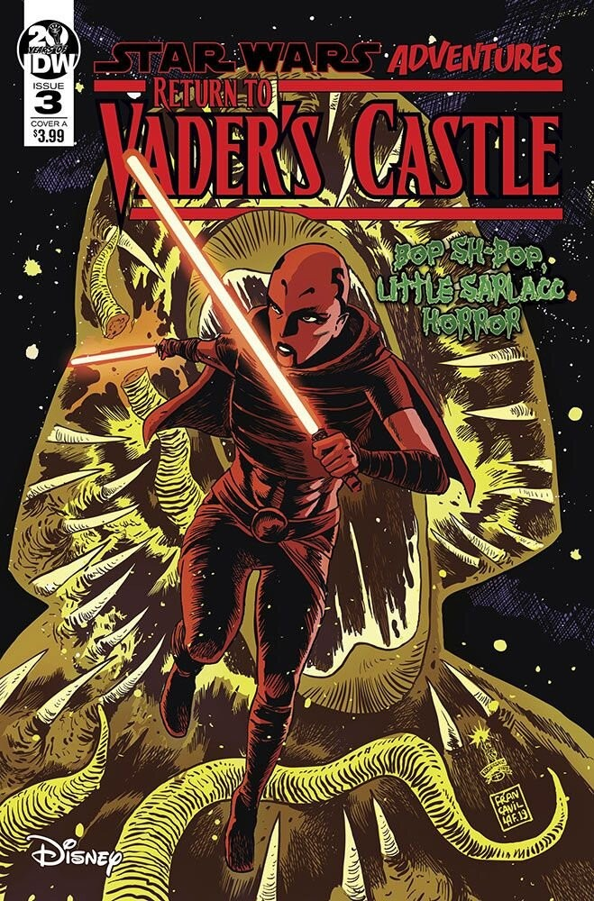 Comic Book Preview - Star Wars Adventures: Return to Vader's Castle #3