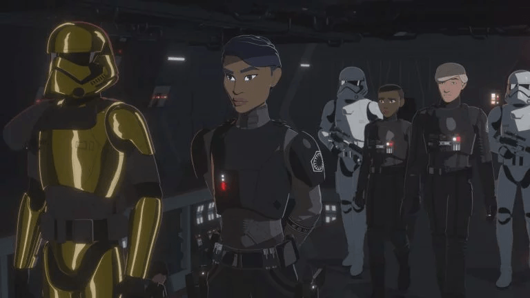 Clip and images for Star Wars Resistance Season 2 Episode 2 - 'A Quick Salvage Run'