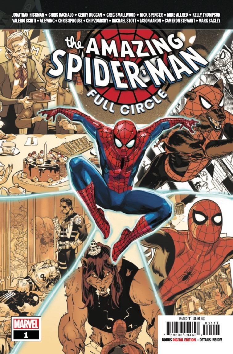 Comic Book Preview - The Amazing Spider-Man: Full Circle #1