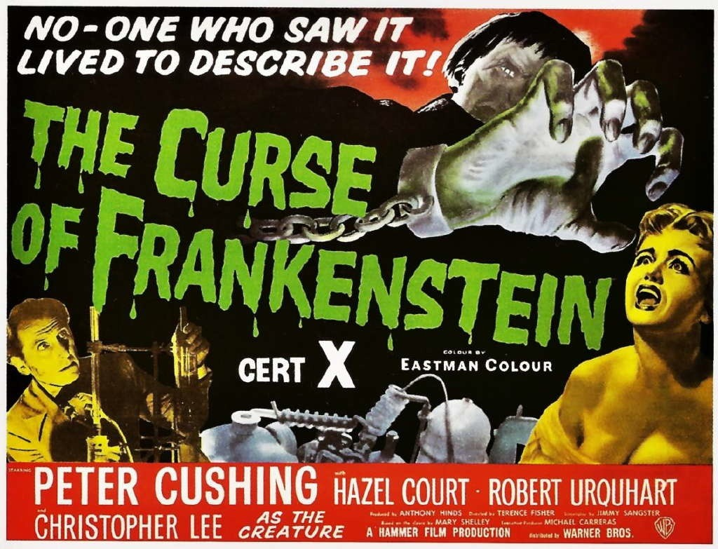 October Horrors 2019 Day 15 - The Curse of Frankenstein (1957)