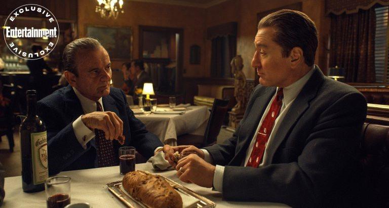 New image from The Irishman featuring Robert De Niro and Joe Pesci