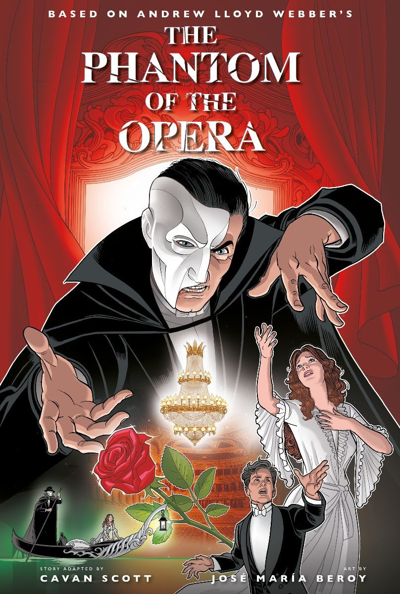 Andrew Lloyd Webber's The Phantom of the Opera to receive graphic novel adaptation