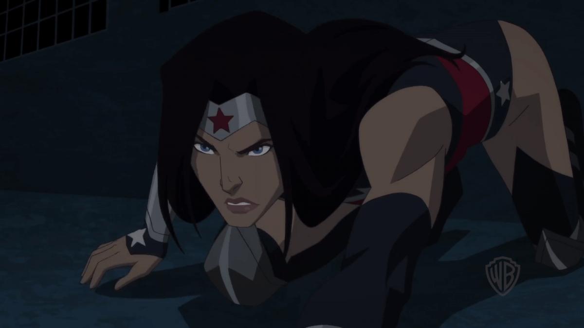 Diana battles Giganta in Wonder Woman: Bloodlines clip