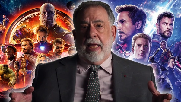 "Francis Ford Coppola slams Marvel movies, brands them as ""despicable"""