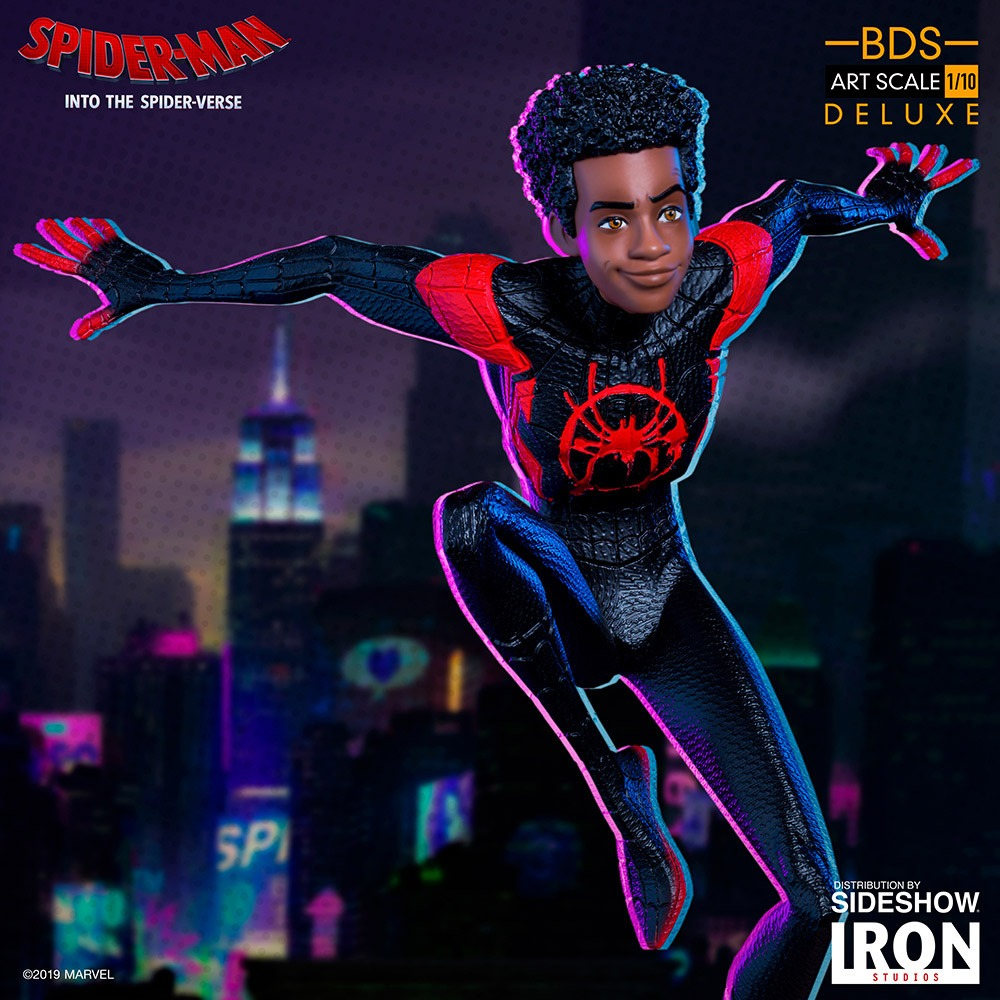 Spider-Man: Into the Spider-Verse Battle Diorama Series collectibles unveiled by Iron Studios