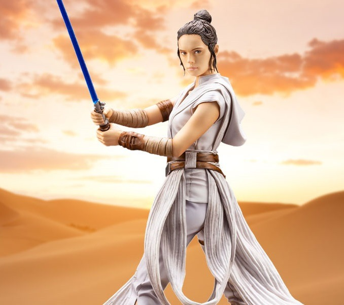Star Wars: The Rise of Skywalker Rey ARTFX statue unveiled by Kotobukiya