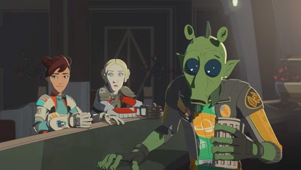 Clip and images for Star Wars Resistance Season 2 Episode 3 - 'Live Fire'