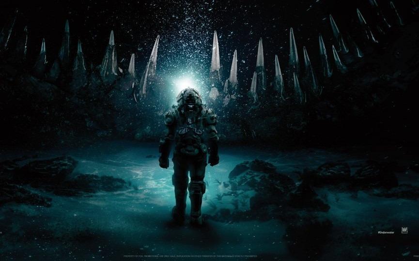 New poster for Kristen Stewart-headlined sci-fi thriller Underwater