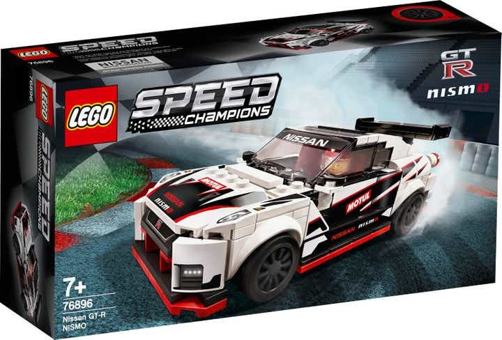 LEGO Speed Champions Nissan GT-R NISMO coming in January
