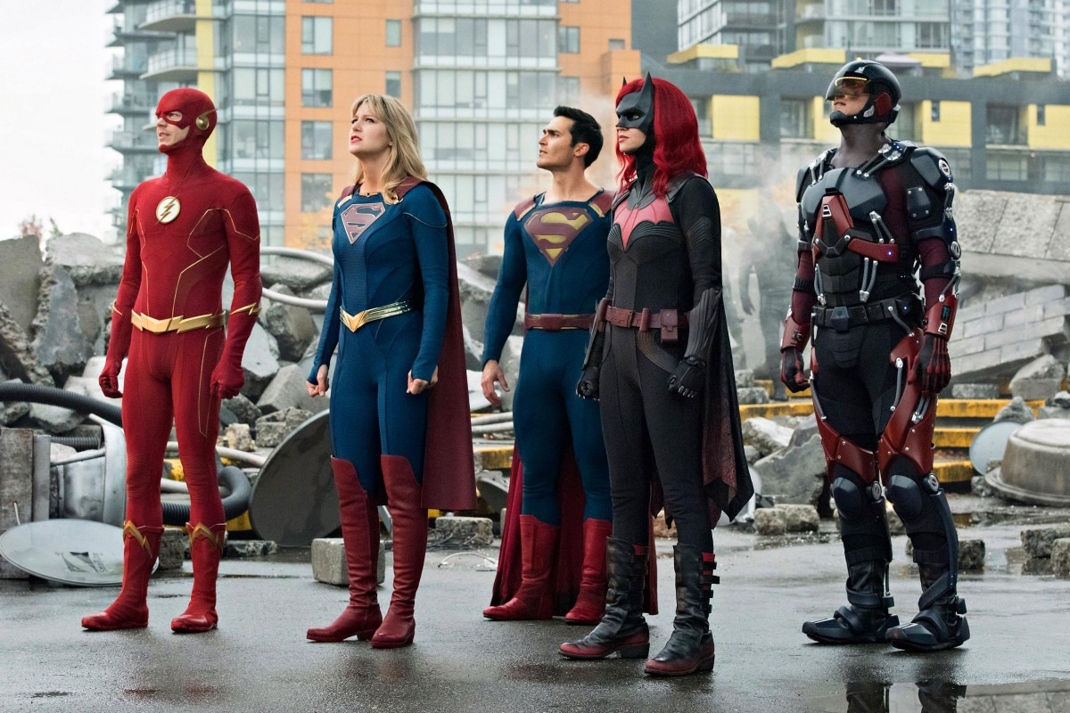 The Arrowverse assembles in first Crisis on Infinite Earths promotional images