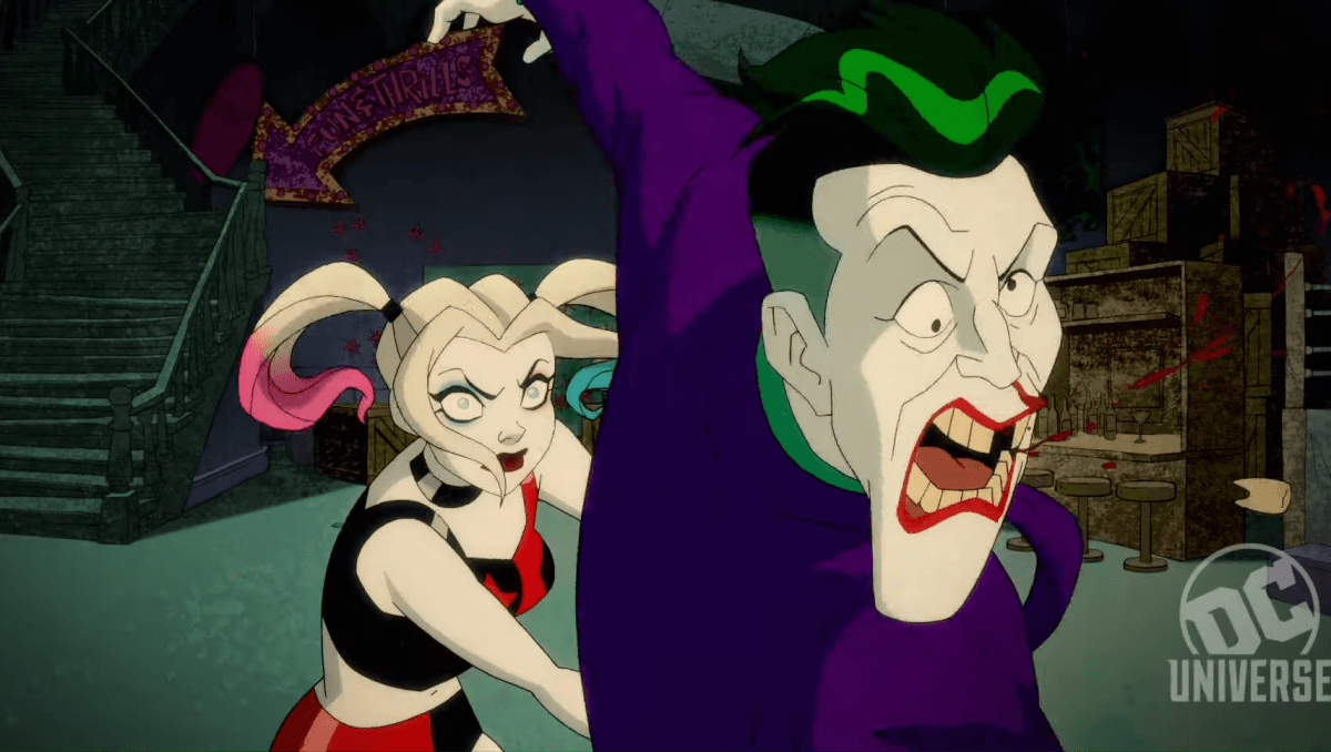 harley quinn animated series gets new trailer from dc universe