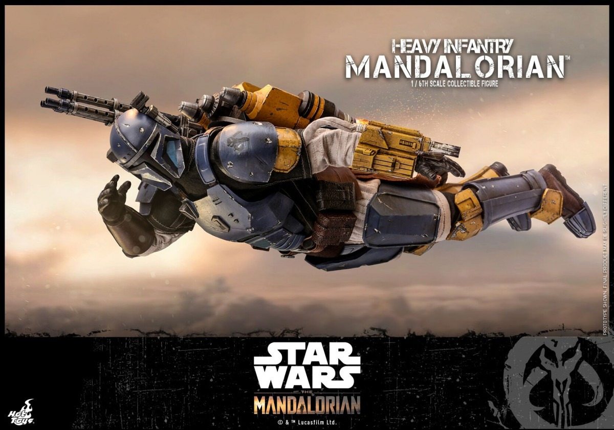 Hot Toys unveils its Heavy Infantry Mandalorian collectible figure