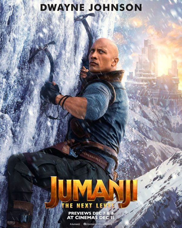 Jumanji The Next Level Gets Four New Character Posters