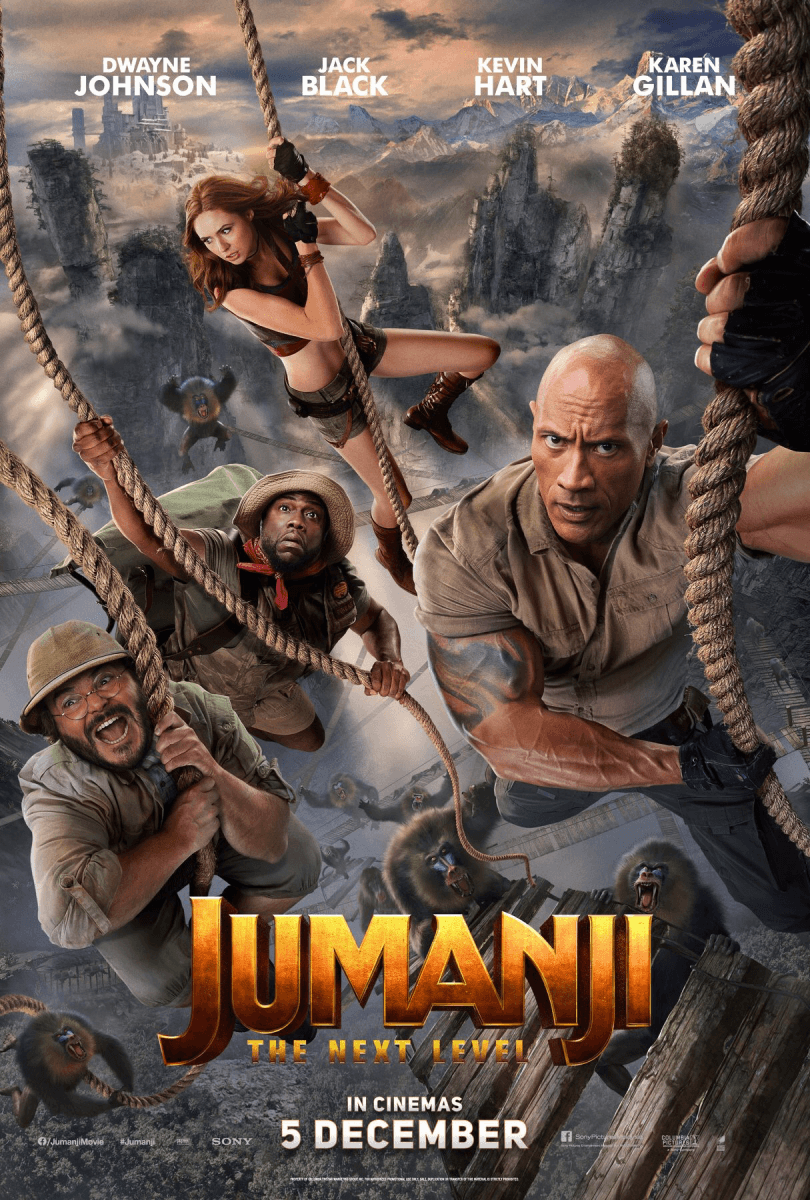 Movie Review – Jumanji: The Next Level (2019)