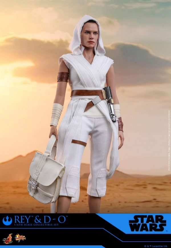 Star Wars The Rise Of Skywalker Rey And D O Collectible Set Revealed By Hot Toys