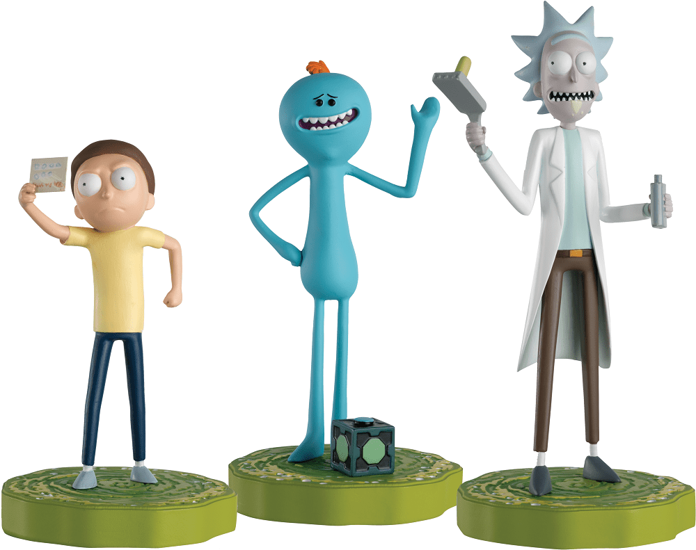 Hero Collector announces Rick and Morty Figurine Collection