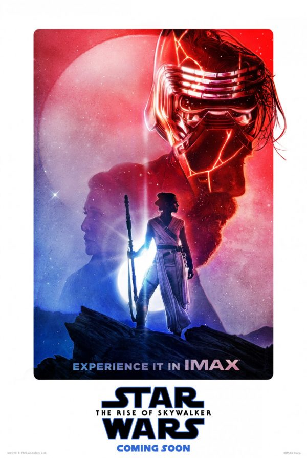 Star Wars The Rise Of Skywalker Gets Another Illustrated Imax Poster