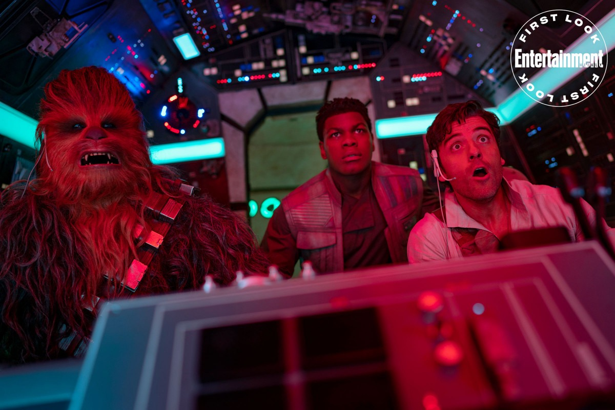 Chewie, Finn and Poe featured in new Star Wars: The Rise of Skywalker image