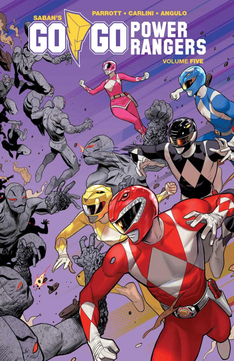 Comic Book Preview - Saban's Go Go Power Rangers Vol. 5