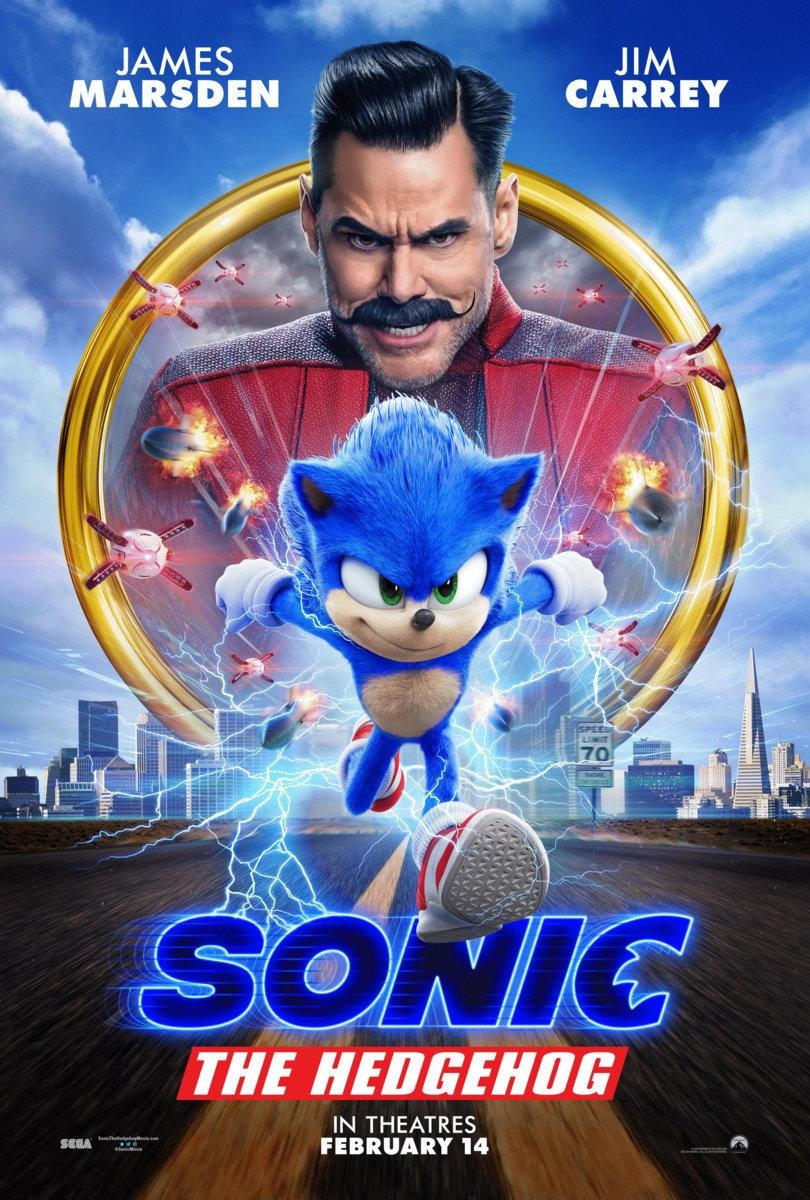 Movie Review – Sonic the Hedgehog (2020)