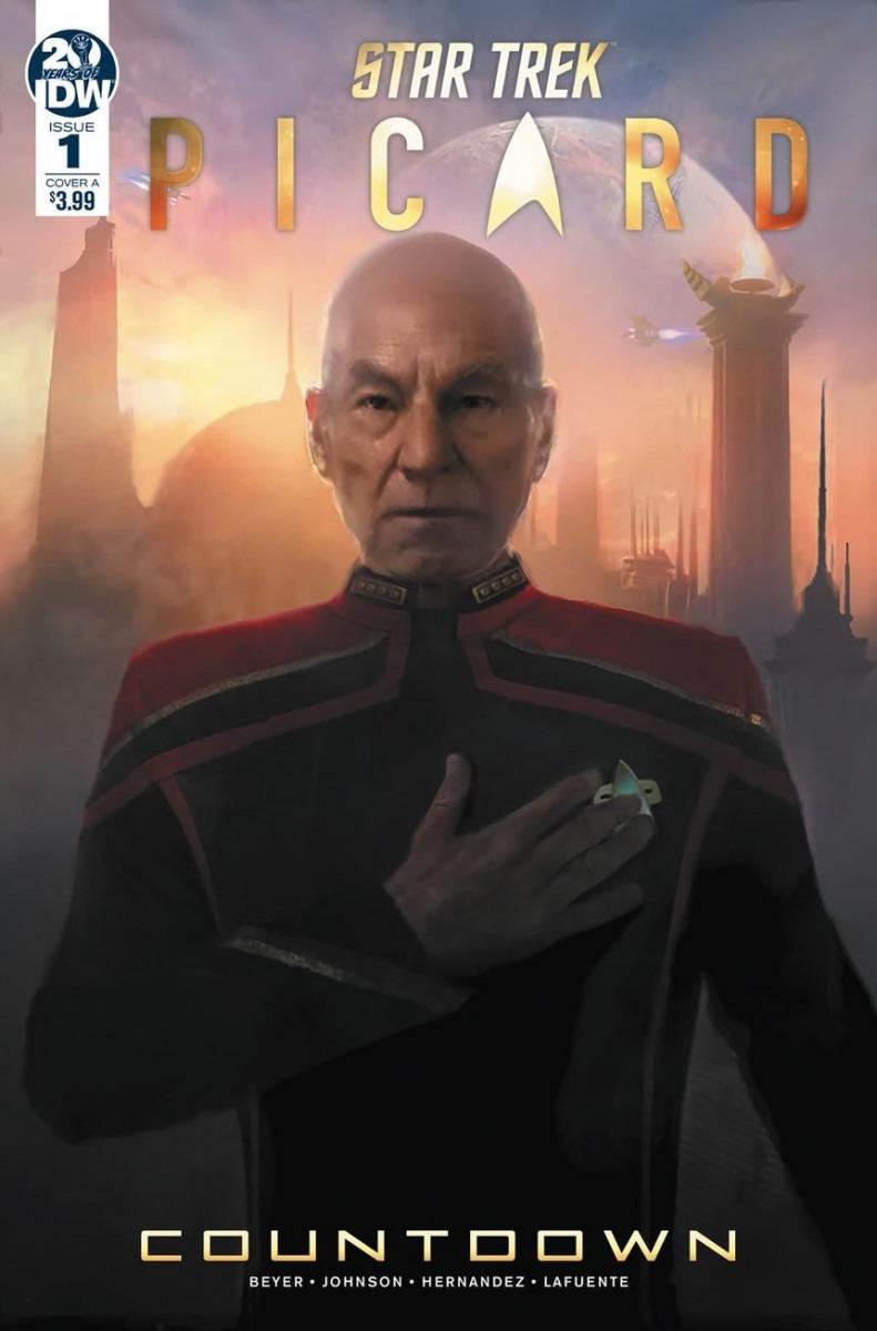 Comic Book Review – Star Trek: Picard – Countdown #1