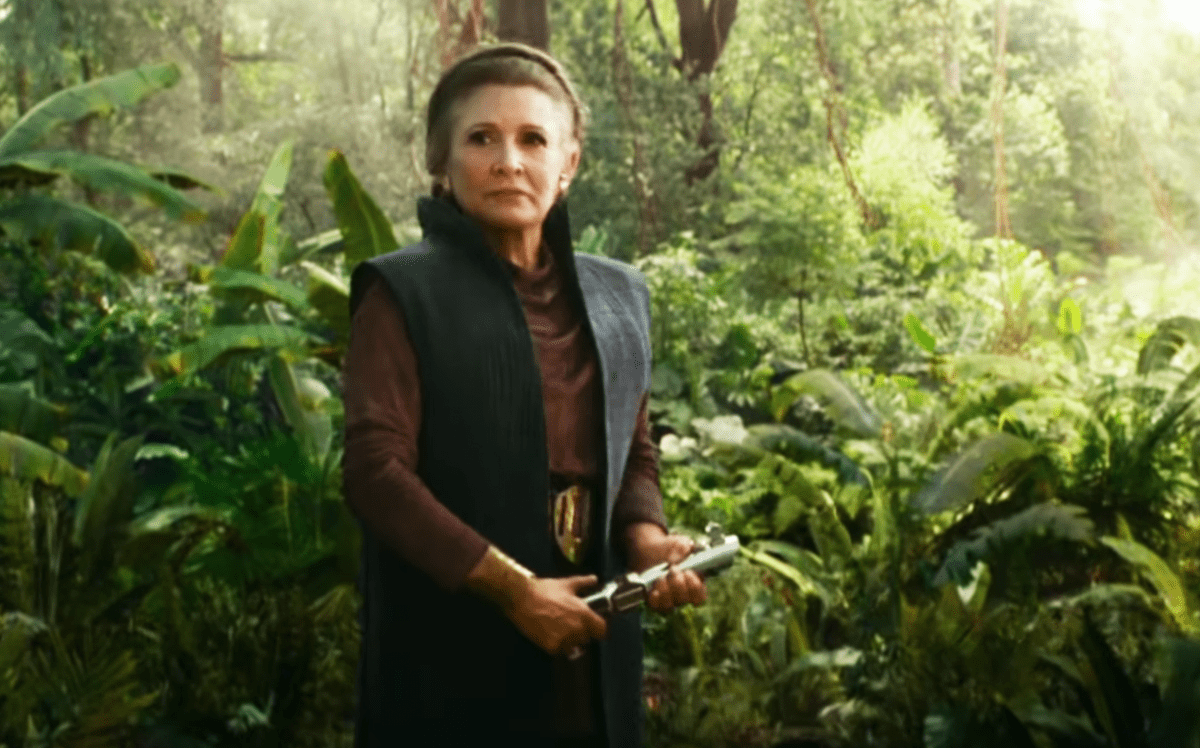 Star Wars: The Rise of Skywalker 'Special Look' promo features more of Carrie Fisher's Leia