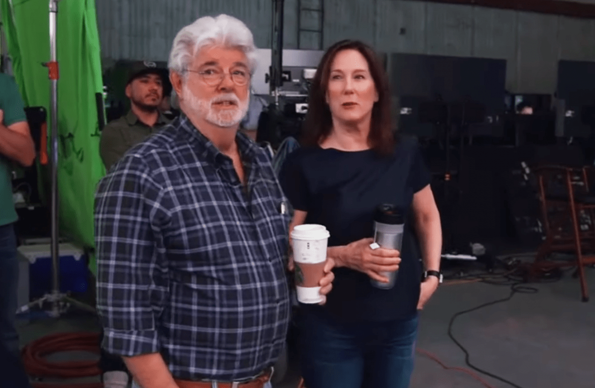 Kathleen Kennedy thinks it would be 'fantastic' if George Lucas returned to Star Wars but doubts it will happen
