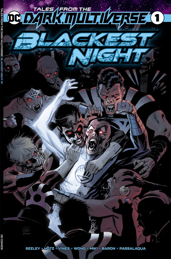 Comic Book Preview - Tales from the Dark Multiverse: Blackest Night