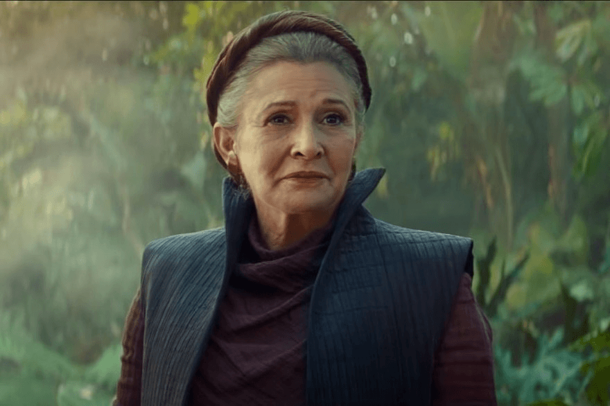 J.J. Abrams says Star Wars: The Rise of Skywalker tells the Leia story it would have told had Carrie Fisher lived