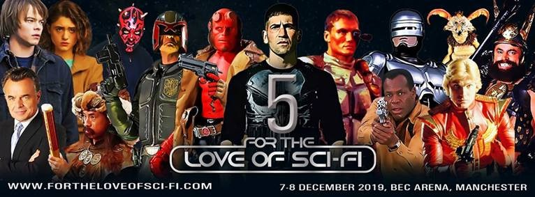For the Love of Sci-Fi returns to Manchester this December