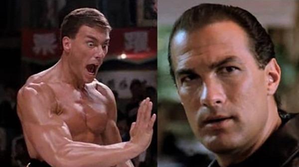 The Film Feud of the 90's: Steven Seagal vs Jean-Claude Van Damme