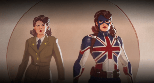 New images from Marvel's What If...? animated series feature Super Soldier Peggy, Zombie Cap, and T'Challa as Star-Lord