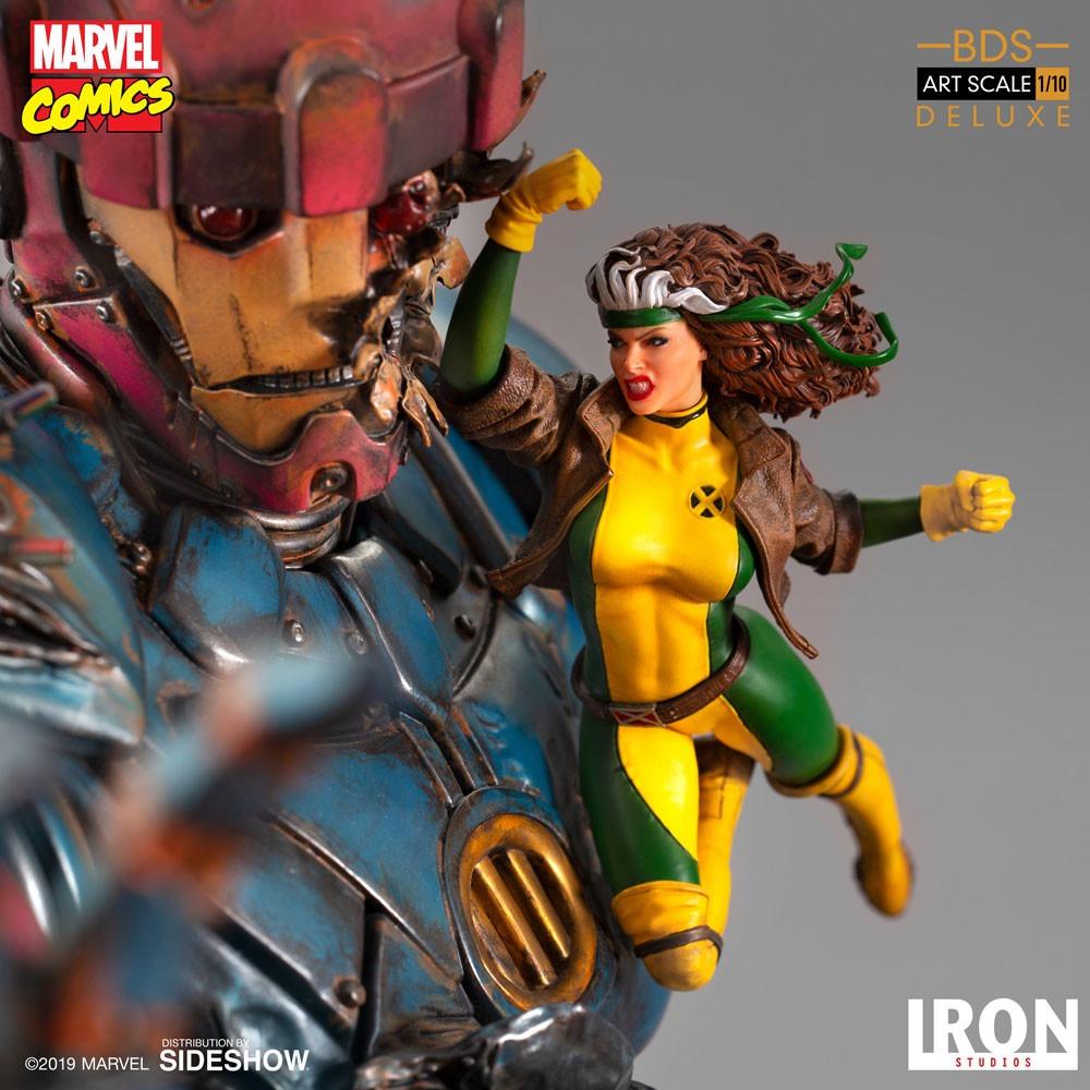 Iron Studios' X-Men vs. Sentinel Battle Diorama statue available to pre-order now