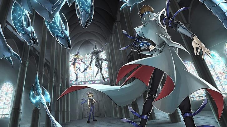yu-gi-oh-blue-eyes-white-dragon-dark-magician-yu-gi-oh-dark-magician-girl-wallpaper-preview