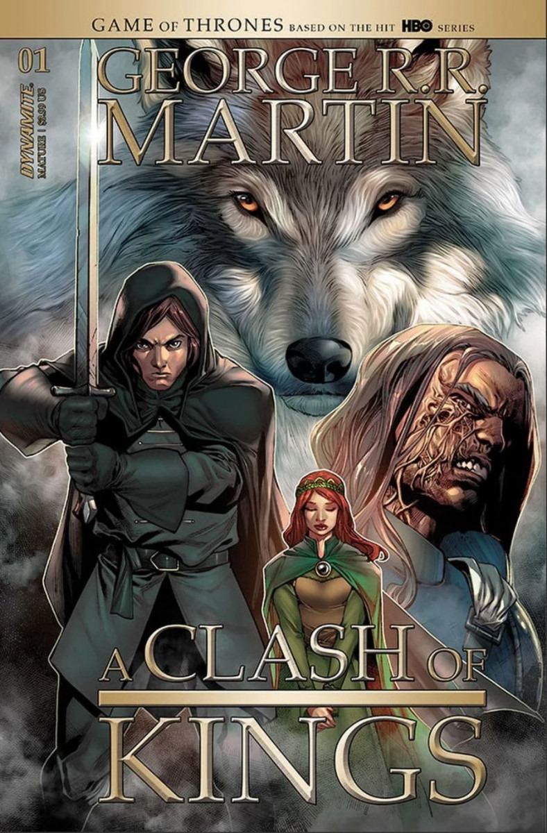 Comic Book Preview - George R.R. Martin's A Clash of Kings #1