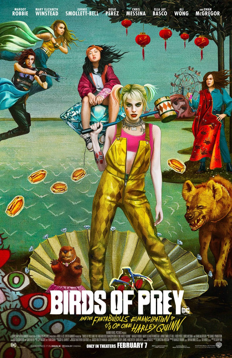 New poster for Birds of Prey (And the Fantabulous Emancipation of One Harley Quinn)