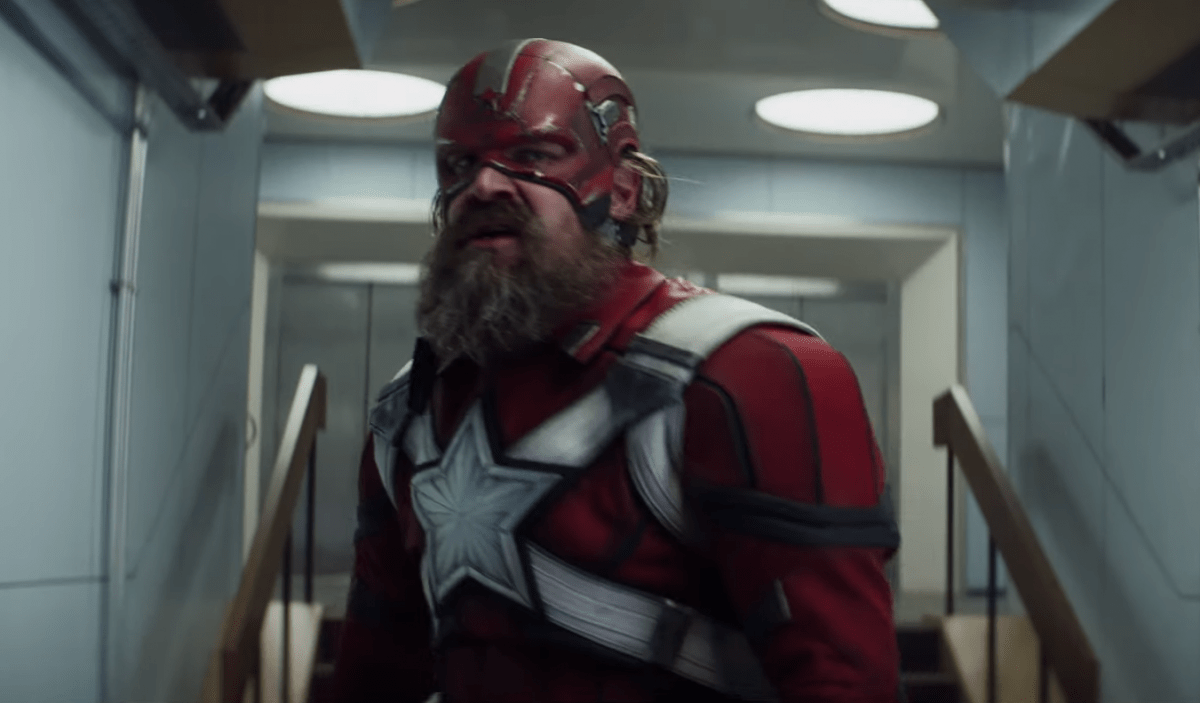 David Harbour discusses Red Guardian role in Marvel's Black Widow