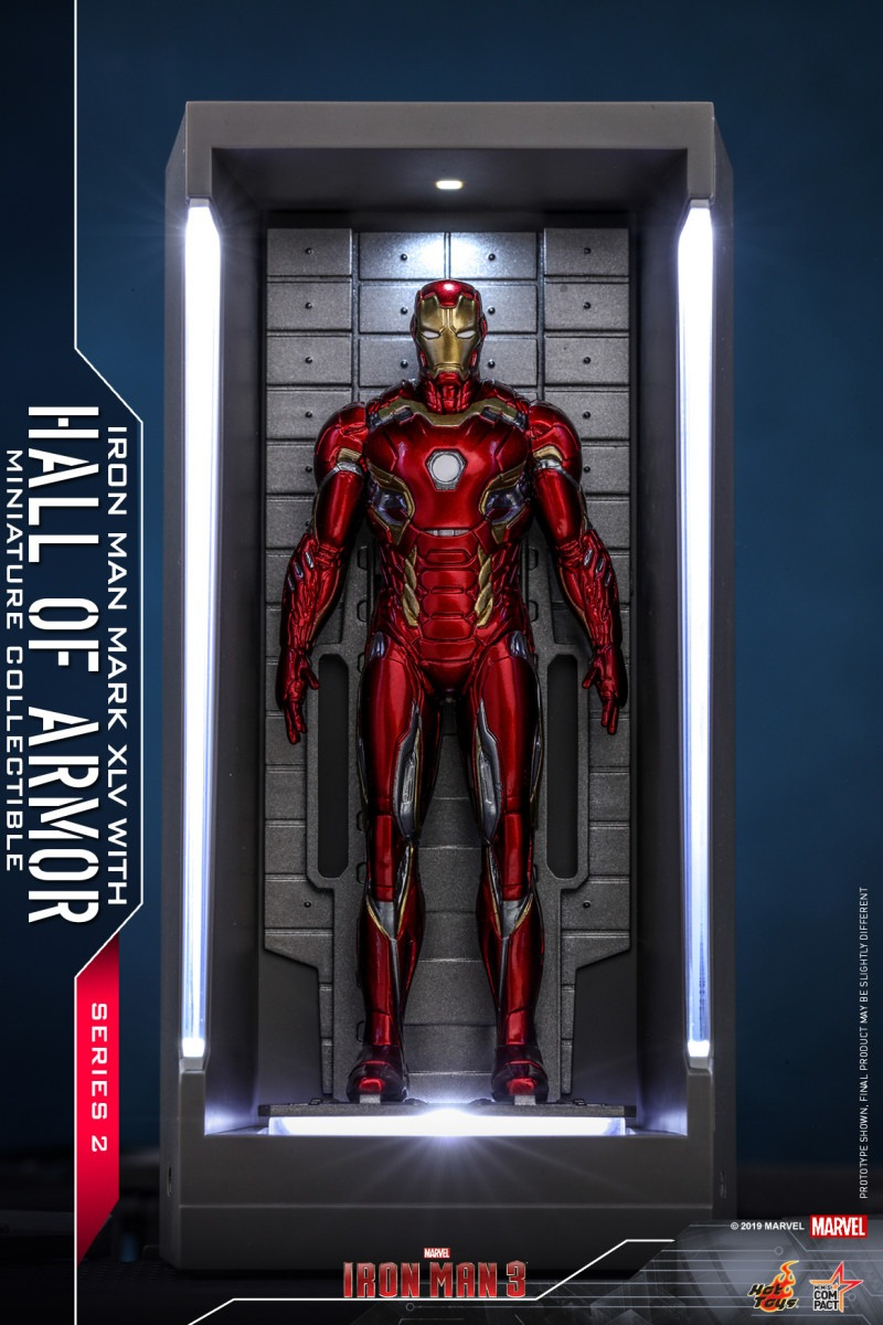 Hot Toys unveils new Iron Man Hall of Armor Miniature Collectibles