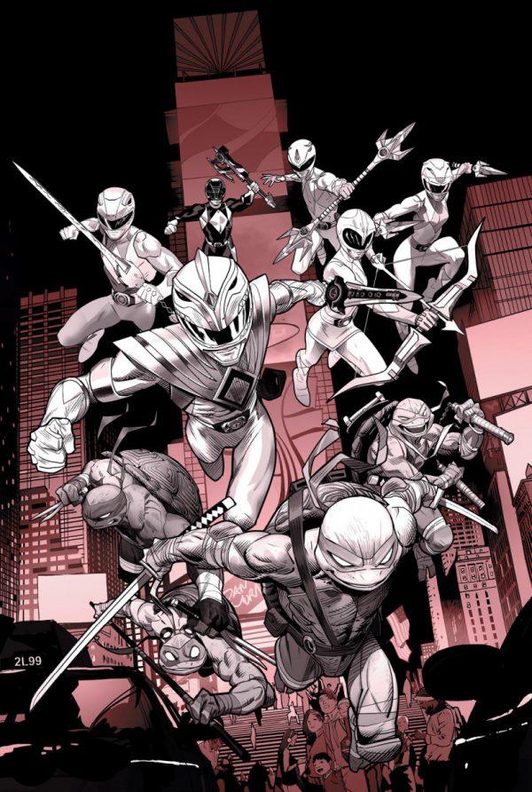 Mighty-Morphin-Power-RangersTeenage-Mutant-Ninja-Turtles-1-Black-and-White-Edition-600x892